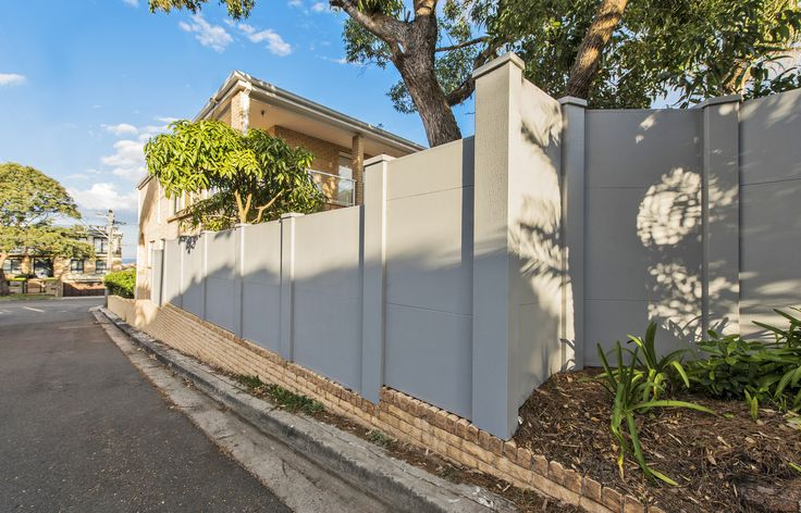 VogueWall boundary doing its thing and keeping things quiet for this main road resident.