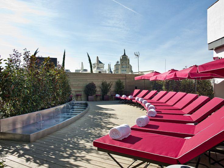Solarium  5 Star Boutique Hotel Madrid   The Principal Madrid