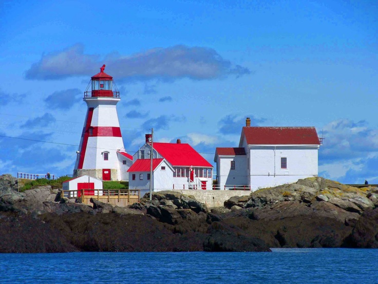 Cape Enrage Lighthouse, Bay Of Fundy, New Brunswick, Canada