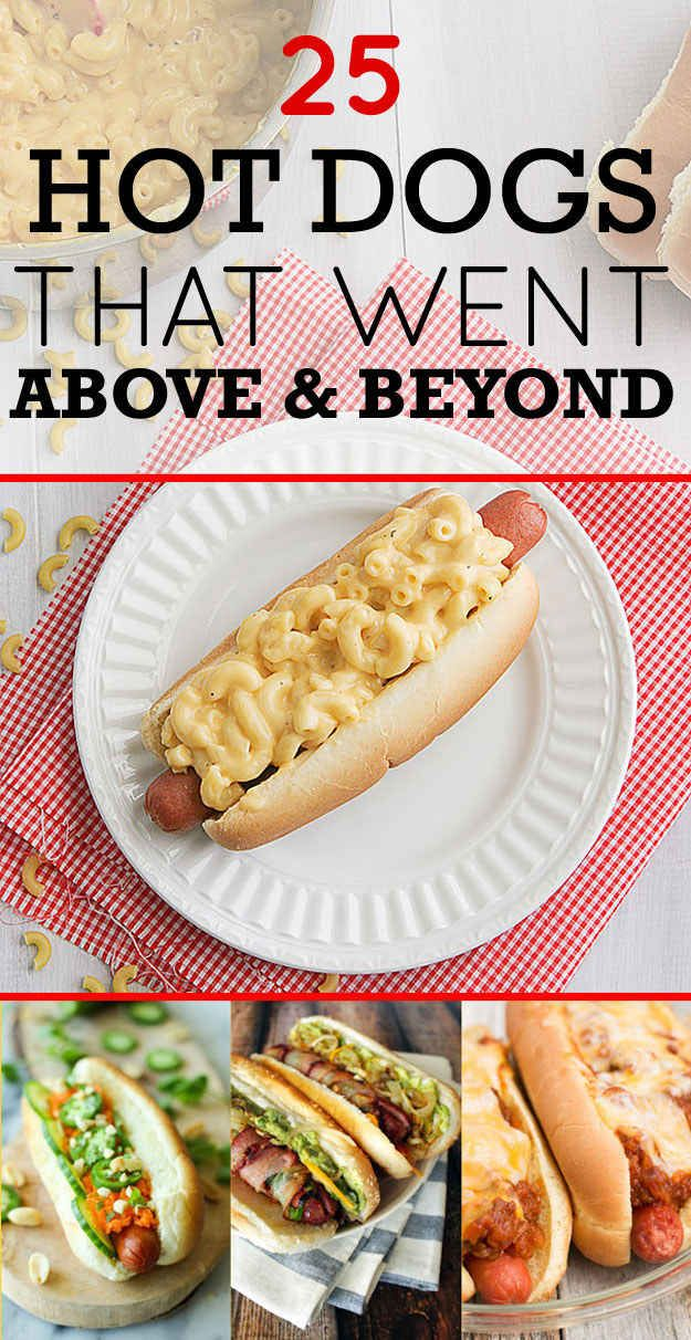 """I just realized I don't have a """"summertime"""" themed board, because these 25 top hot dogs would fit in perfectly if I did"""