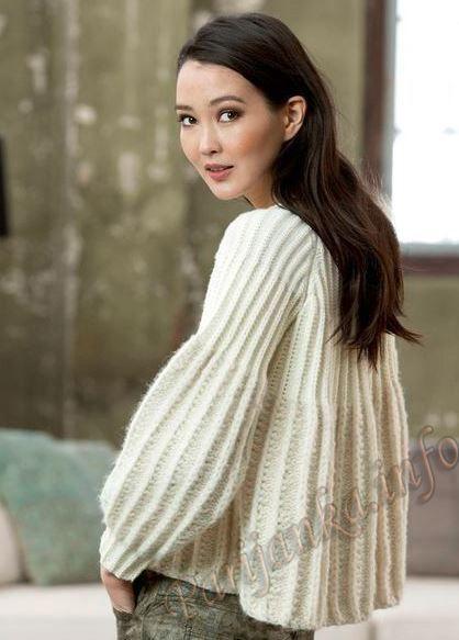 Пуловер (ж) 36*225 FAM №4782