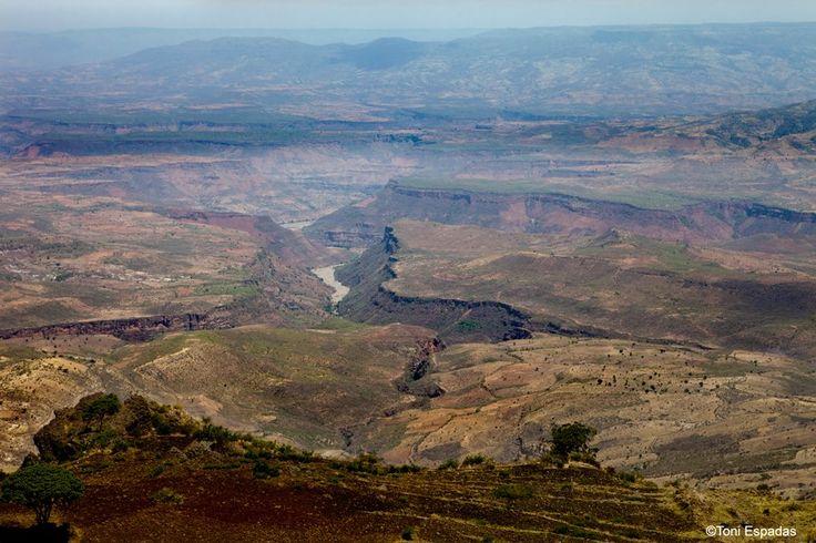 El Nilo Azul, que nace en las entrañas del Tana