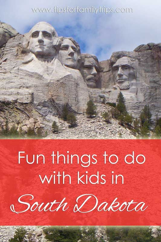 What are some vacation destinations in South Dakota?