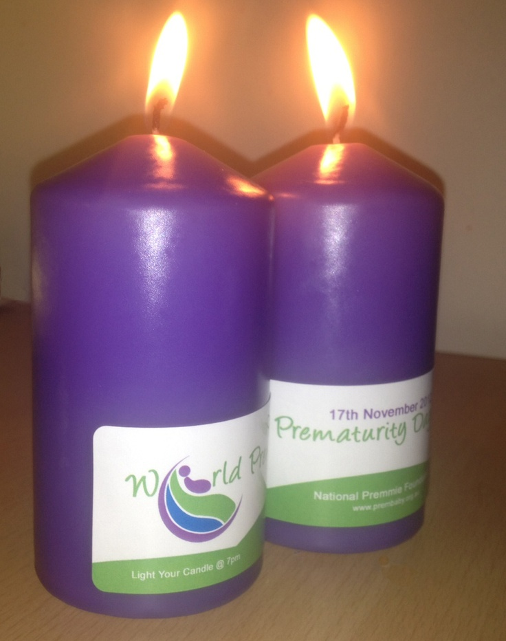 Our awareness lit up for World Prematurity Day 2012.