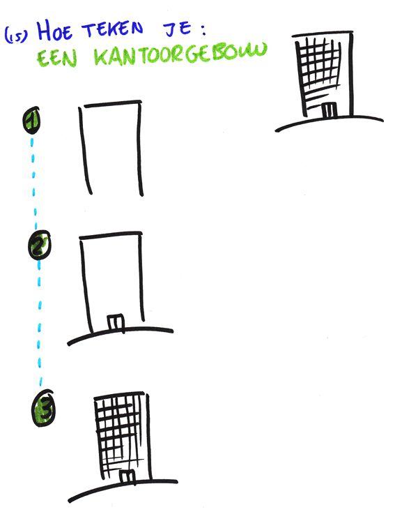 Hoe teken je... een kantoorgebouw? http://debetekenaar.nl/cursus/