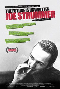 Joe Strummer: The Future Is Unwritten / HU DVD 6655 / http://catalog.wrlc.org/cgi-bin/Pwebrecon.cgi?BBID=11764508