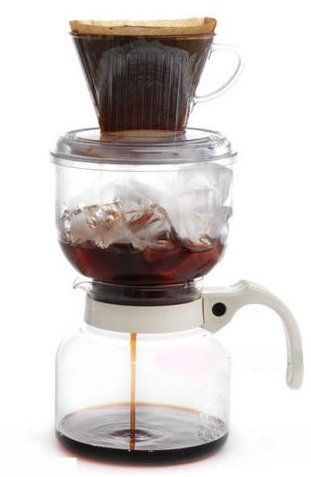 Kalita Cold Brew Dutch Coffee Maker Hand Drip Coffee SET Made Japan Iceand Hot ST-1 * Amazing product just a click away  : Coffee Maker