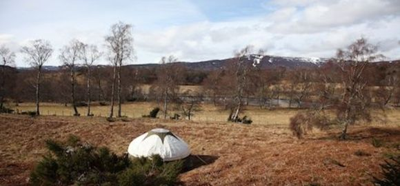 Inshriach Yurt, Aviemore - stay in a yurt inScotland (even in winter!) Must do on next visit to UK