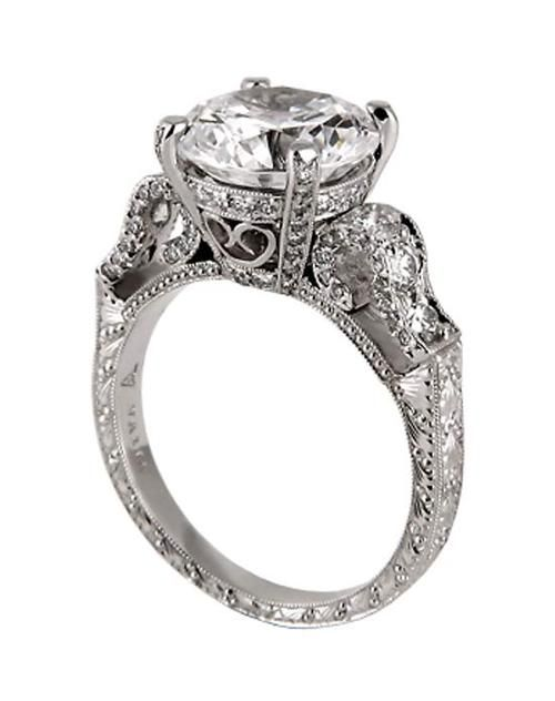 Neil Lane Engagement Rings. Wow that is almost like the Tacori ring I've always loved! So pretty!