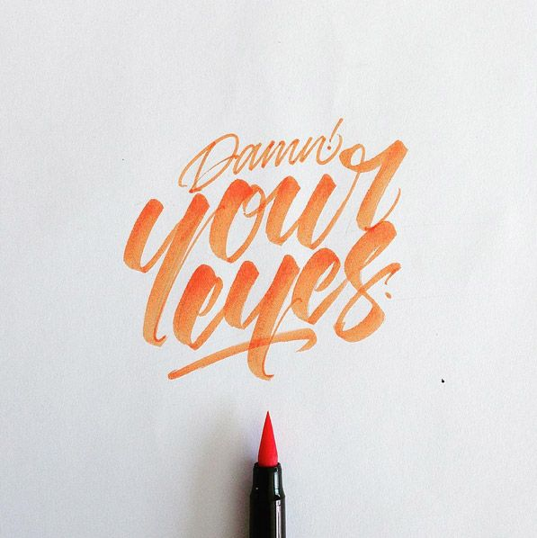 125 Best Images About Lettering On Pinterest Type Fonts