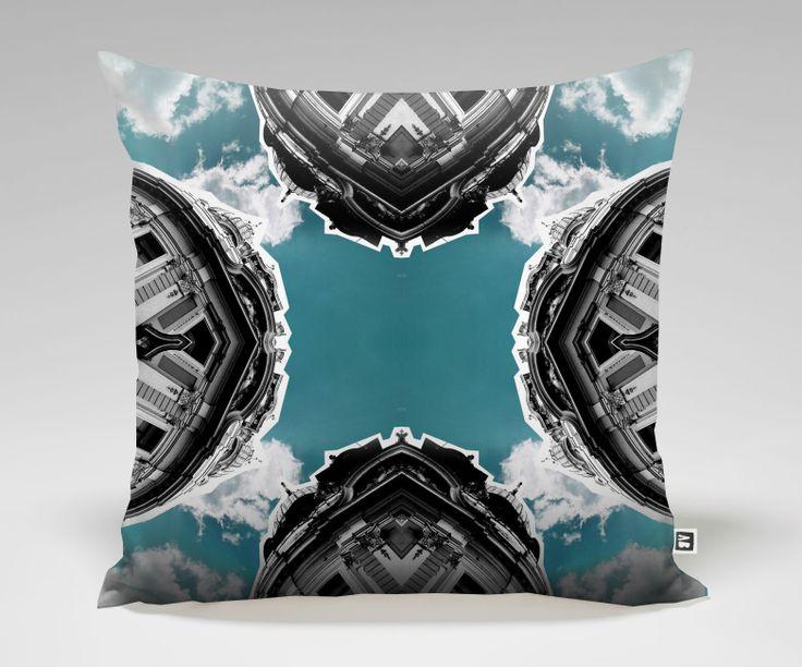 CLO Pillow #3 Mirror Street