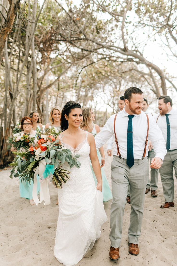 Colby and Andrew's wedding at Out Of The Blue in Jupiter was chalk full of gorgeous details from Colby's dress, to Andrew's handmade leather suspenders, to all of the beautiful florals – such a dream! The first look at The Jupiter Beach Resort was a great way to kick off the day and Out Of The Blue was a gorgeous spot for the ceremony, cocktail hour and reception. Jennifer with …
