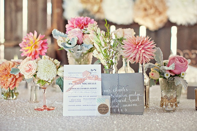 Our Love In October: wedding love: a soft and pretty pastel wedding - part 2