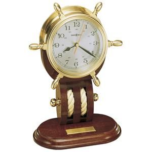 Britannia Table Clock by Howard Miller - Sheely's Furniture & Appliance - Clocks - Table and Mantel Clocks Ohio, Youngstown, Cleveland, Pittsburgh, Pennsylvania