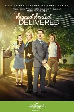 Checkout the Hallmark Film Series 'Signed, Sealed, Delivered: TV Series' on Christian Film Database: http://www.christianfilmdatabase.com/review/signed-sealed-delivered-tv-series/