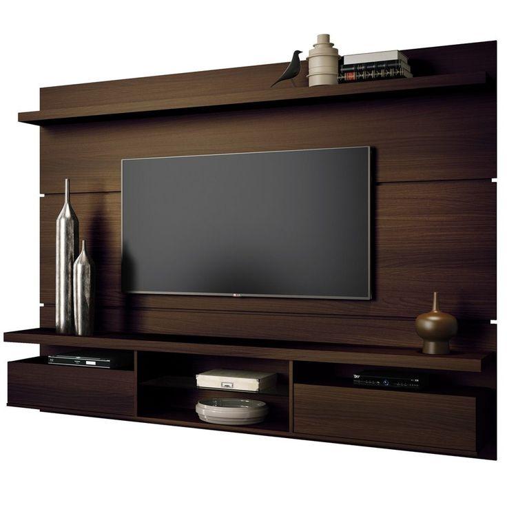 Painel para TV Até 60 Polegadas Livin 2.2 Mocaccino - Hb Móveis - Foto 1