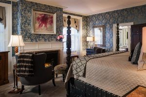 Honeymoon suite perfect for a romantic getaway to Maine