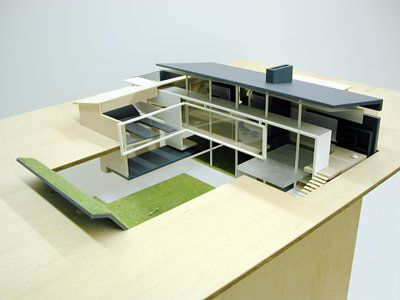 Joel Sanders American (1956)  House for a Bachelor (Model)      Source: http://www.sfmoma.org/explore/collection/artwork/110882#ixzz1jizt0jNe   San Francisco Museum of Modern Art