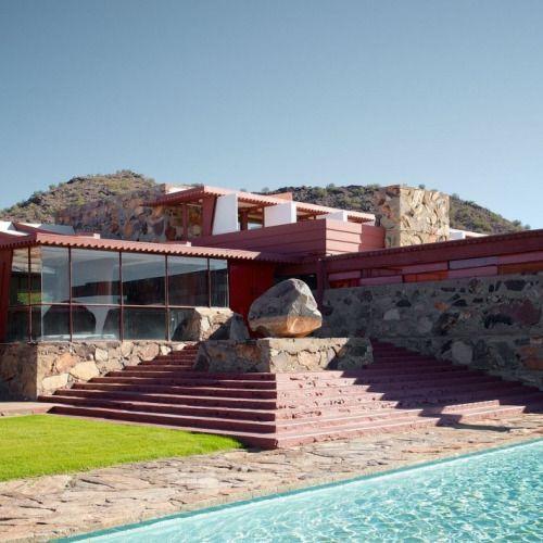 "albertoelbaz: ""Taliesin West (1937) — Frank Lloyd Wright Arizona, United States. """