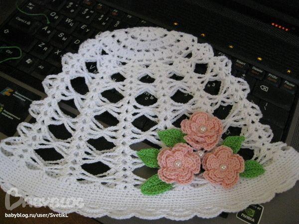 White Hat crochet inspiration
