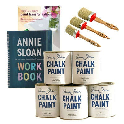 WIN THIS TODAY JANUARY 17th: Annie Sloan Chalk Paint Package! Enter here!