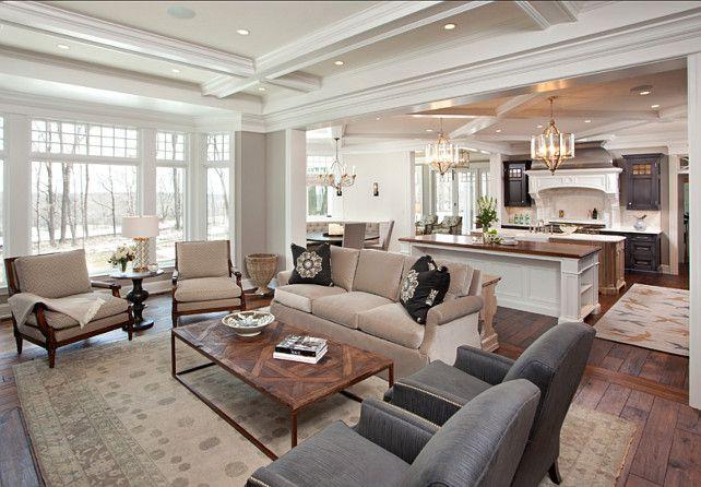 Die 172 besten Bilder zu Family/living rooms auf Pinterest Kamine - offene kuche wohnzimmer grundriss