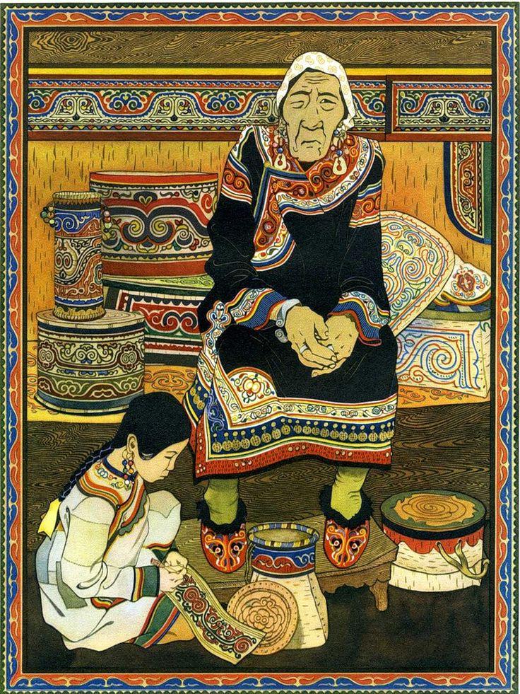 Картинки якутских сказок