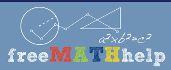 Free Math Help Website