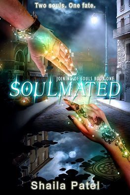 SOULMATED by Shaila Patel. YA paranormal romance. January 24, 2017.