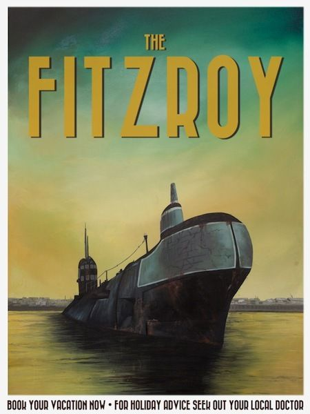 The Fitzroy - Poster E: 'The Fitzroy' by Jack Candy-Kemp