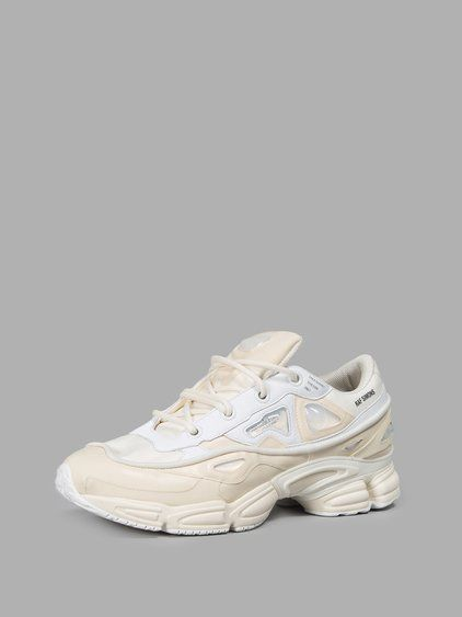 RAF SIMONS RAF SIMONS MEN'S OFF-WHITE OZWEEGO BUNNY SNEAKERS. #rafsimons #shoes #sneakers