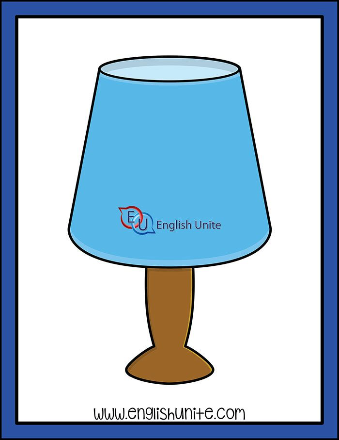 House Lamp English Unite Art Lamp House Lamp Clip Art
