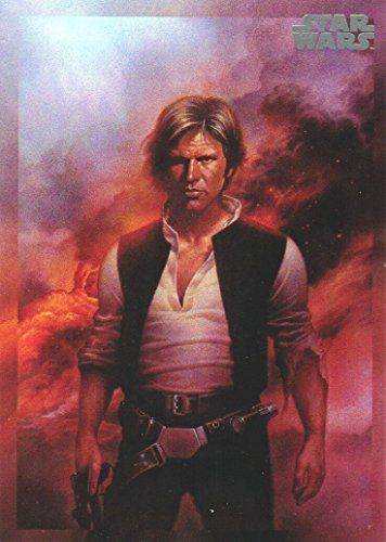 2017 Topps Star Wars 40th Anniversary Trading Card #175 Portrait of a Smuggler //Price: $0.99 & FREE Shipping //     #starwarsmeme