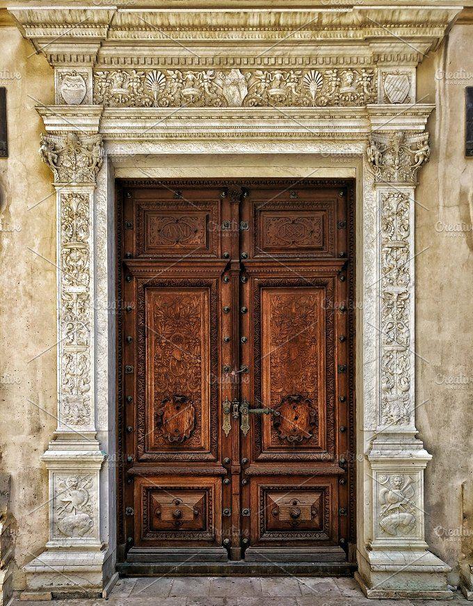 Detailed Door Cool Doors Old Door Doors
