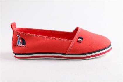 Feyza Saraç - Kadın Turuncu  Keten Deri  Comfort Tpu Taban Ayakkabı