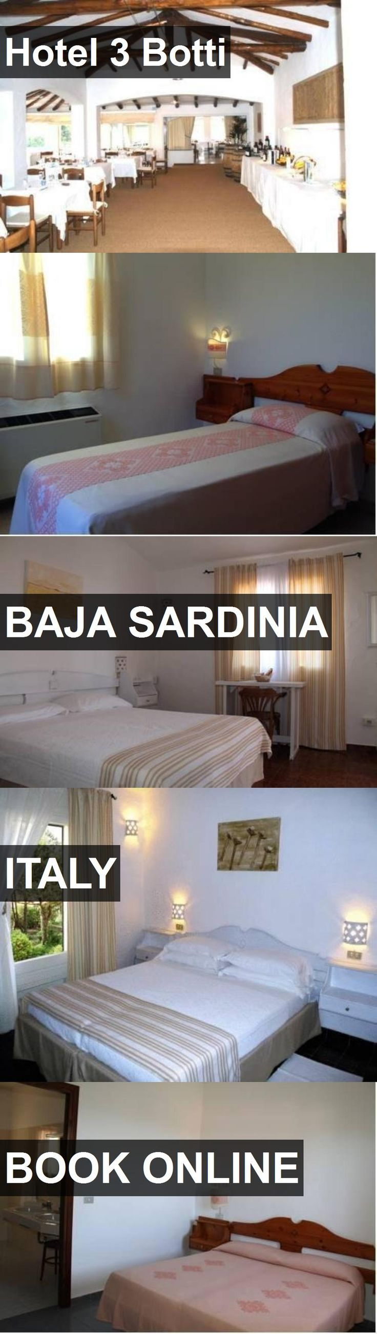 Hotel Hotel 3 Botti in Baja Sardinia, Italy. For more information, photos, reviews and best prices please follow the link. #Italy #BajaSardinia #Hotel3Botti #hotel #travel #vacation