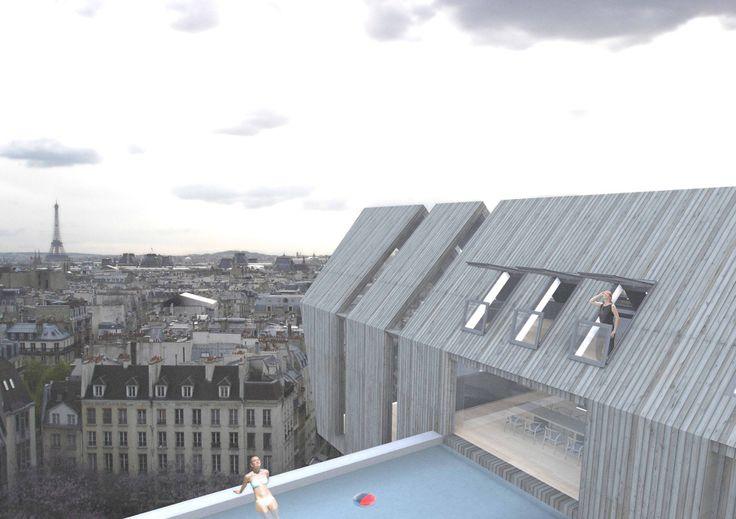 New Vision of the Loft   Fakro - Achilles Kalogridis architecture
