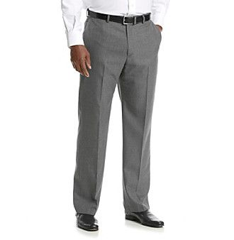 John Bartlett Men's Big & Tall Suit Separates Pants