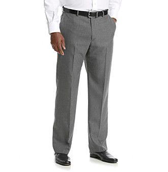 John Bartlett Men's Big & Tall Suit Separates Pants