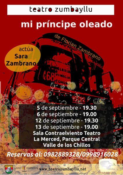 teatro zumbayllu: en La Merced, Ecuador