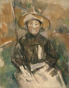 Paul Cèzanne - L'Enfant au chapeau de paille, 1896 - Expo Portraits de Cézanne - Musée d'Orsay, Paris - Jusqu'au 24/09/17 - © Courtesy County Museum of Art, Los Angeles