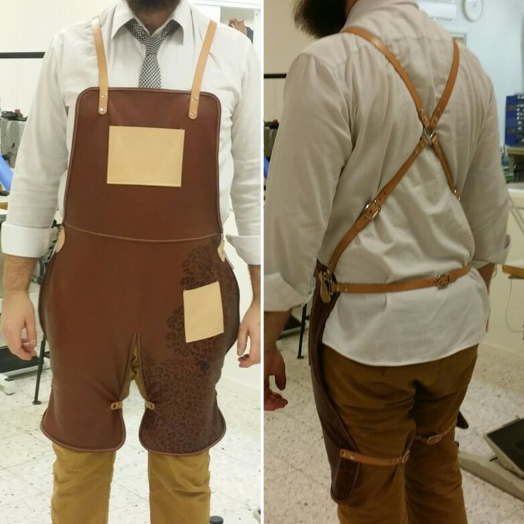 Leather apron made by me
