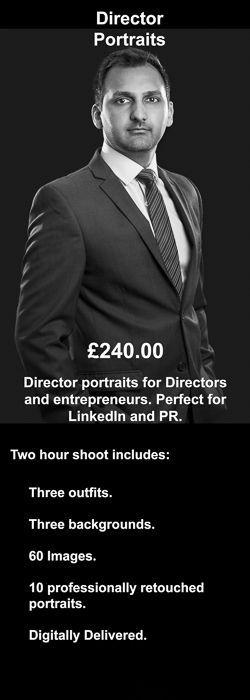 Director Headshot Portraits: