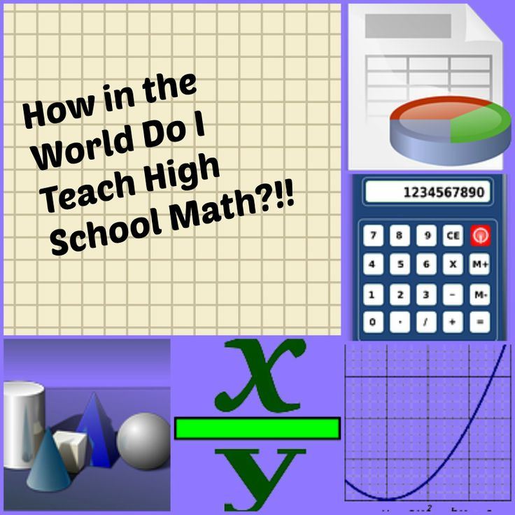 Resources for teaching #highschool level #math