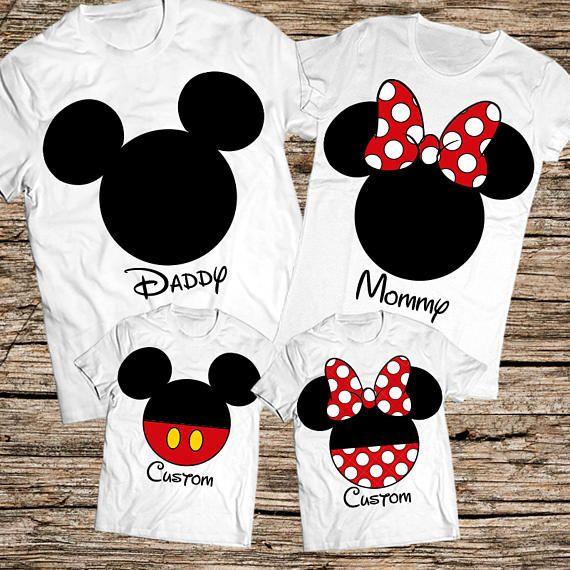 Family disney world shirts Disney Family Shirts Matching