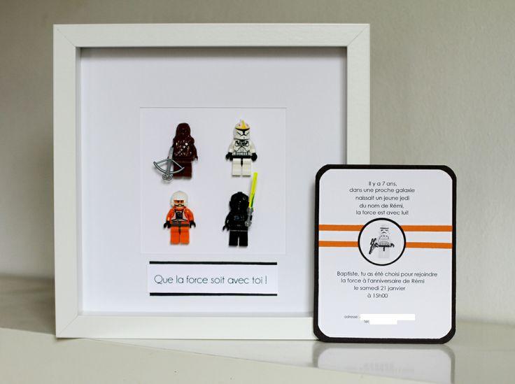 invitation anniversaire star wars lego anniversaire star wars pinterest invitations. Black Bedroom Furniture Sets. Home Design Ideas