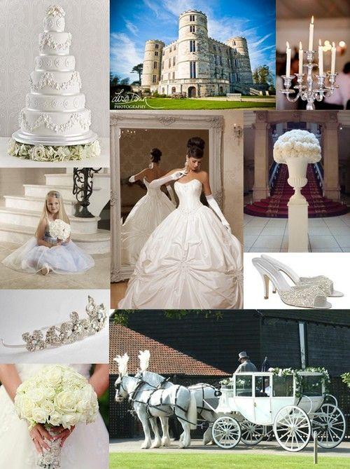 Fairytale Wedding Mood Board