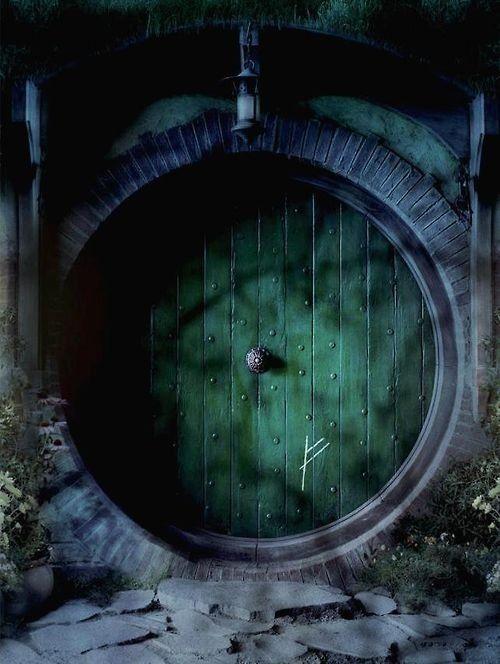 55 Best Images About Door Hobbit Bag End On Pinterest