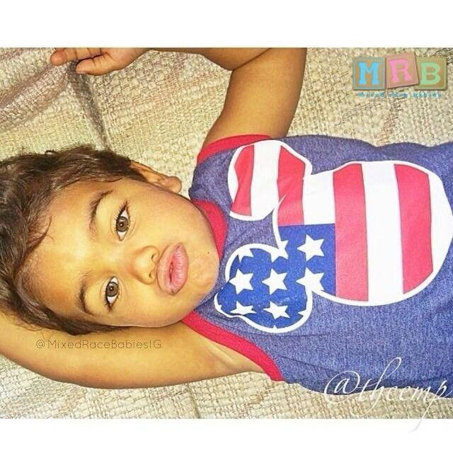 Omggg he is soo cute  Mexican and African-American Name:Sebastian Kai  Via Facebook on mixed race babies page