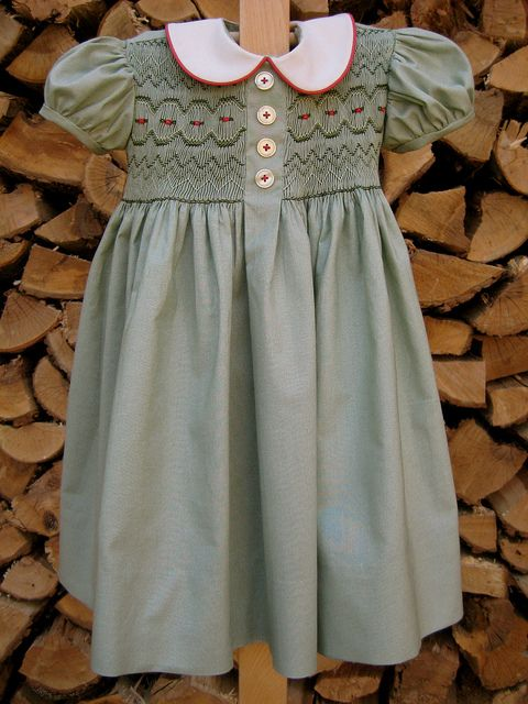 Dottie's Day Dress - Such a sweet pattern and smocking plate!   by Mynorth, via Flickr